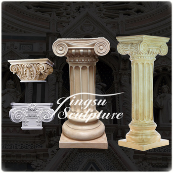 Decorative Pillars For Homes small stone marble interior decorative hollow pillars for homes limestone columns High Quality Marble Pillars For Home Decoration