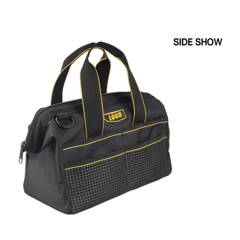 softback travel hanging tool bag for plumbers