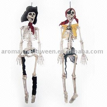 halloween product plastic skeleton halloween decorations 36 dressed up skeletons