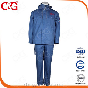 AC high voltage electrostatic shielding clothes