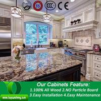 Solid wood modern white kitchen cabinet online