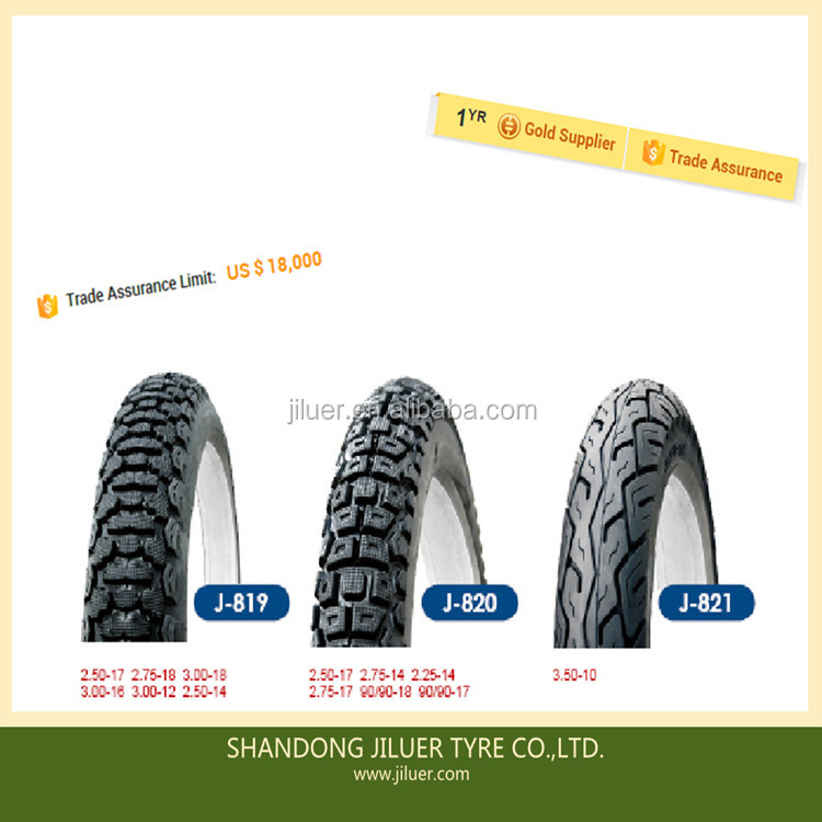 Tire Casing Type tube motorcycle tire2.25-14 90/90-18 3.50-10 3.00-18inch