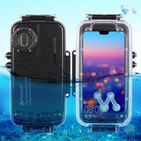 2019 PULUZ 40m/130ft Waterproof Diving Case Housing Photo Video Taking Underwater Cover Case for Huawei P20