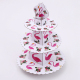 Flamingo Cupcake Stand, 3 Tier Dessert Tower Ceramic Cheese Plates Design for Desserts, Birthdays, Decorations PS031-17