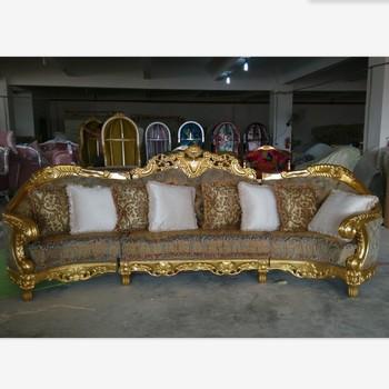 Arab Red Velvet Sofa Clic Love Seat
