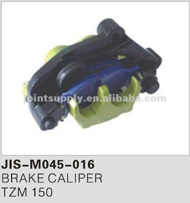 Motorcycle brake caliper for TZM 150