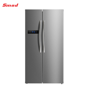 500L-600L Factory Price Stainless Steel Frost Free Luxury Side By Side Refrigerator