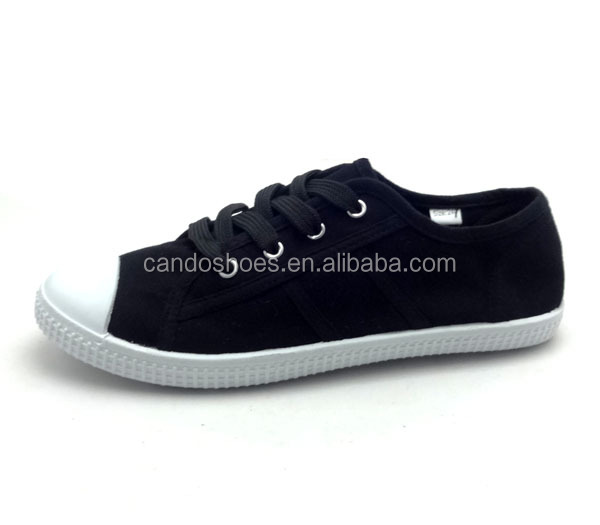 Stylish Natural Fabric Vamp Classy Style Stock Shoe Canvas Shoes