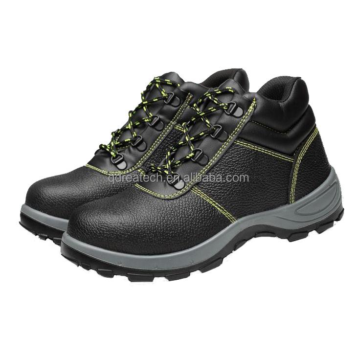 Steel Toe Steel Plate Men Safety Shoes