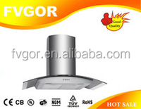 copper motor wall mounted kitchen island range hood