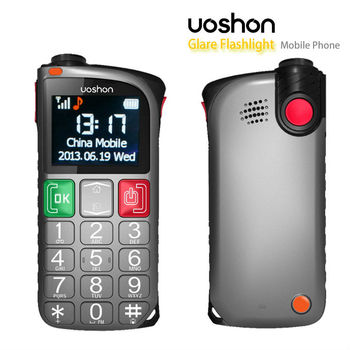 Unlocked Gsm Sos Alarm Cell Phone For Senior Citizens Large ...