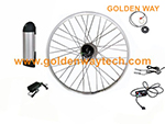 ebike motor kit 36V 250W motor kit with lithium battery
