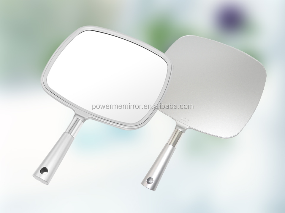 Simple face salon miroir main carr hand held miroir for Miroir indonesia
