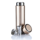 Everich 450ml 18/8 stainless steel thermo mug with tea infuser