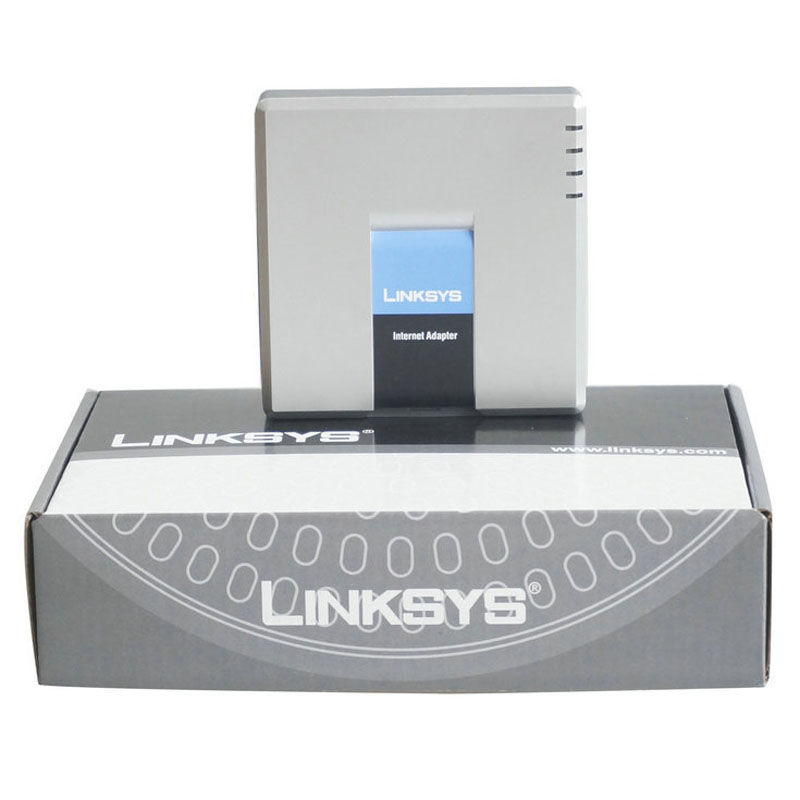 Ata Voip adapter Linksys pap2t Low price Unlocked and Brand new support iax2