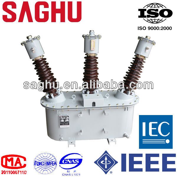 33kV metering unit pole mounted