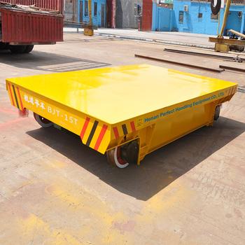 Crane Winch Trolley Kpj 20 Tons Electric Platform Rail Truck With Heavy Load