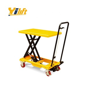 500kg hydraulic mini table mobile small scissor lift