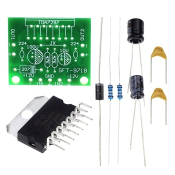 Diy Tda7297 Mini Audio Power Amplifier Kits 15w+15w 9-15v,Sample Sale  Online - Buy Mini Amplifier Kits,Guitar Amplifier Kits,Stereo Amplifier Kit