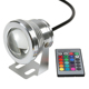 16 Colors 10W 12V RGB LED Underwater Fountain Light 1000LM Swimming Pool Pond Fish Tank Aquarium LED Light Lamp