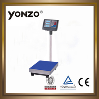 YZ-804 100kg to 500kg electronic digital platform weighing scale postage scales digital