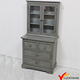 Shabby Gray Large Wooden Storage Cabinet
