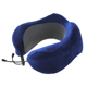 Fashion U shape memory personalized super soft travel magnetic fabric neck pillow