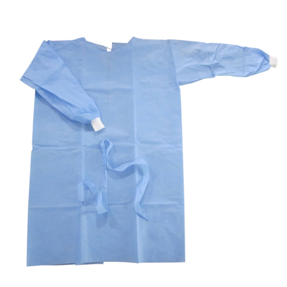Water Repellant Disposable Nonwoven Surgery Gowns Of Sms Material ...