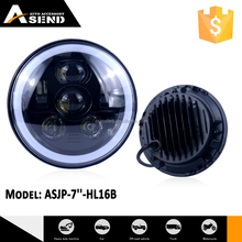 best 7inch led round headlights with Turn light for jeep wrangler