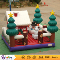 Toys outdoor structures small inflatable indoor christmas bouncers