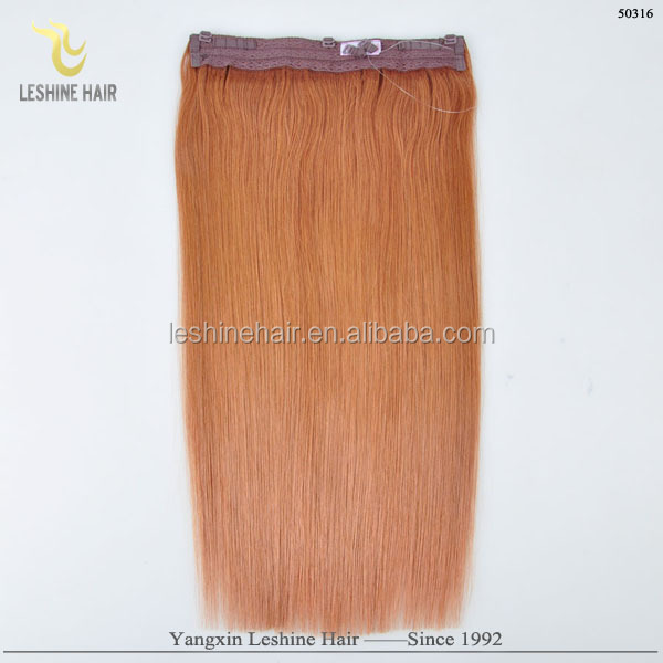 New Year Sales Factory Direct Wholesale Europe Hot Selling Best Quality Virgin hair fish wire hair