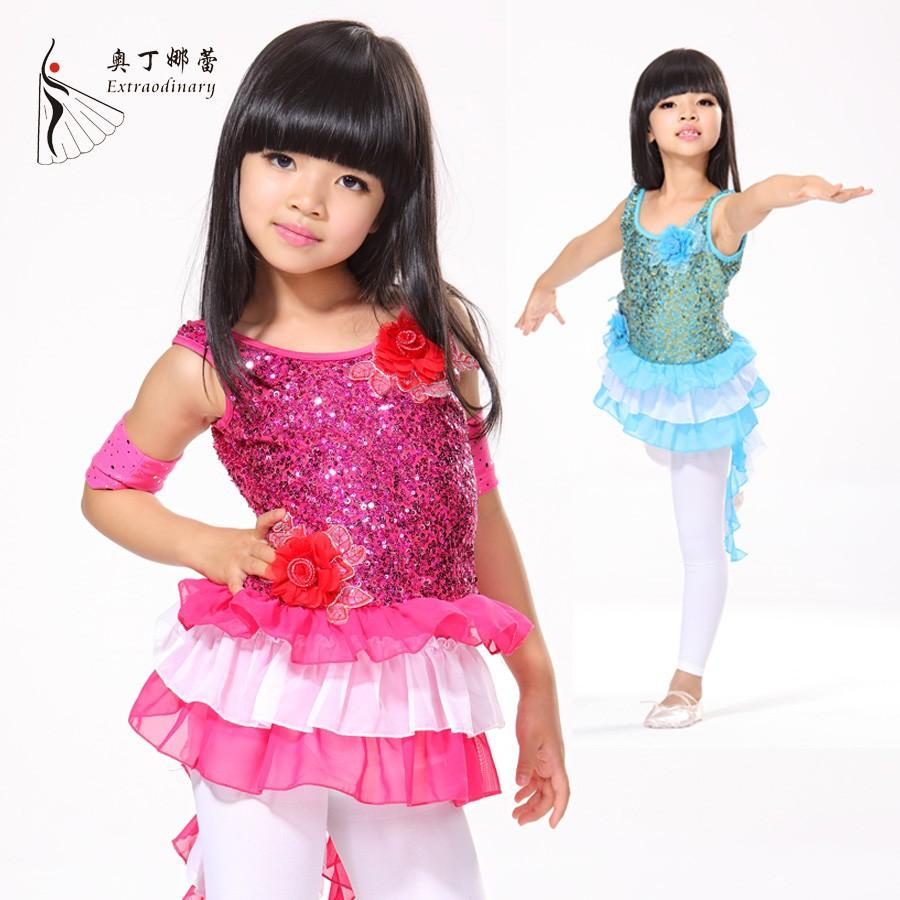 02f06a9af4ada de baile latino de rendimiento vestido para los niños ropa de niño vestido  de baile latino