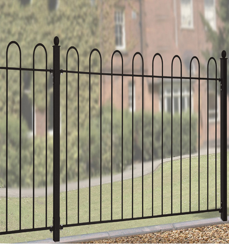 iso certificate no dig fence panels steel fence of factory for sale