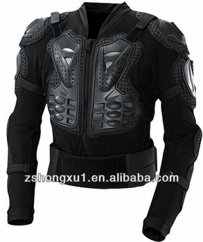 Motor protector armor and protective racing body protector motorcycle racing armor