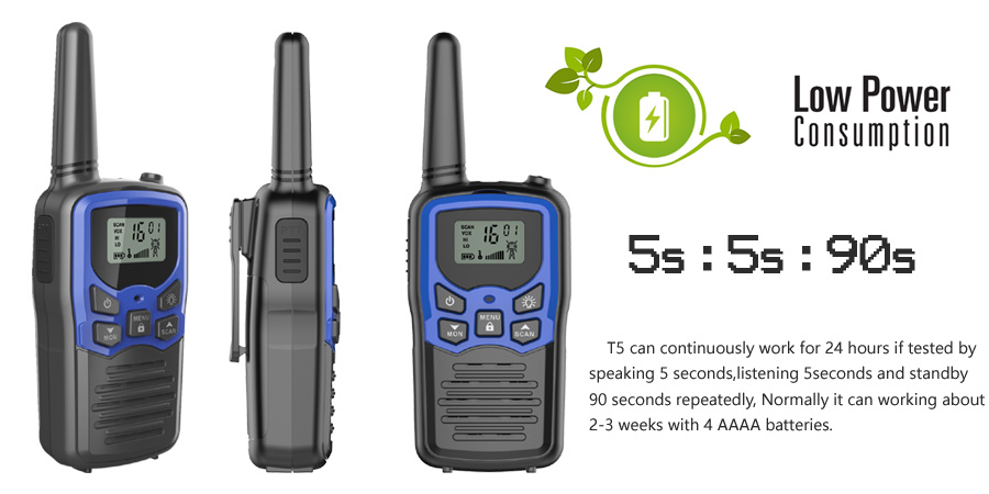 2pcs/pair Interphone encrypted 8 channels two way radio digital walkie talkie for backpacker communication