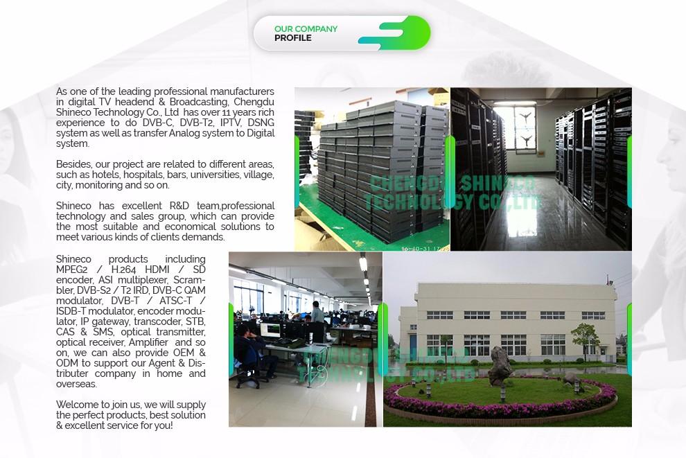 Chengdu Shineco Technology Co , Ltd  - encoder,modulator`