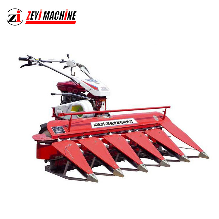 Multifunction Automatic Walking Tractor Reaper Mini Rice