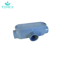 "Price Competitive Durable PVC Conduit Fitting Electrical Conduit Access Fitting TYPE ""T"""