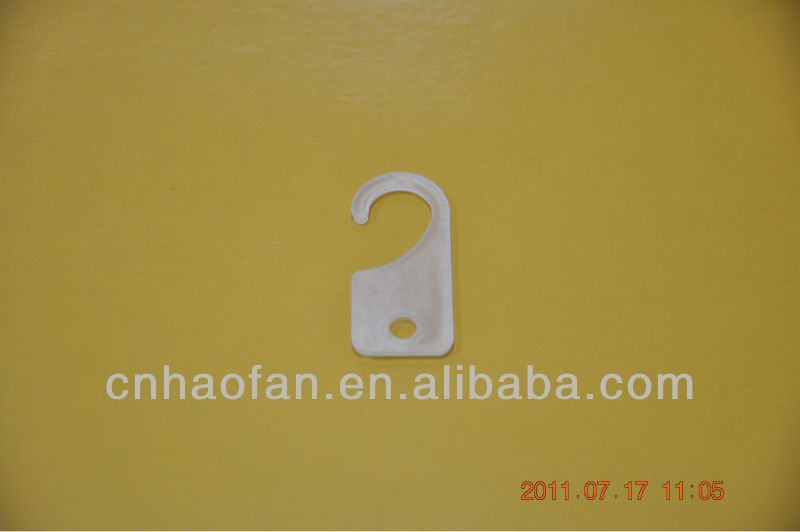 plastic curtain hook