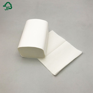 1Ply Or 2Ply Virgin Wood Pulp Interfold Paper Towel V Fold Paper Towels