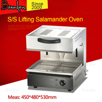 Whole sale price reliable S/S lifting salamander oven / portable electric salamander broiler / commercial salamander equipment