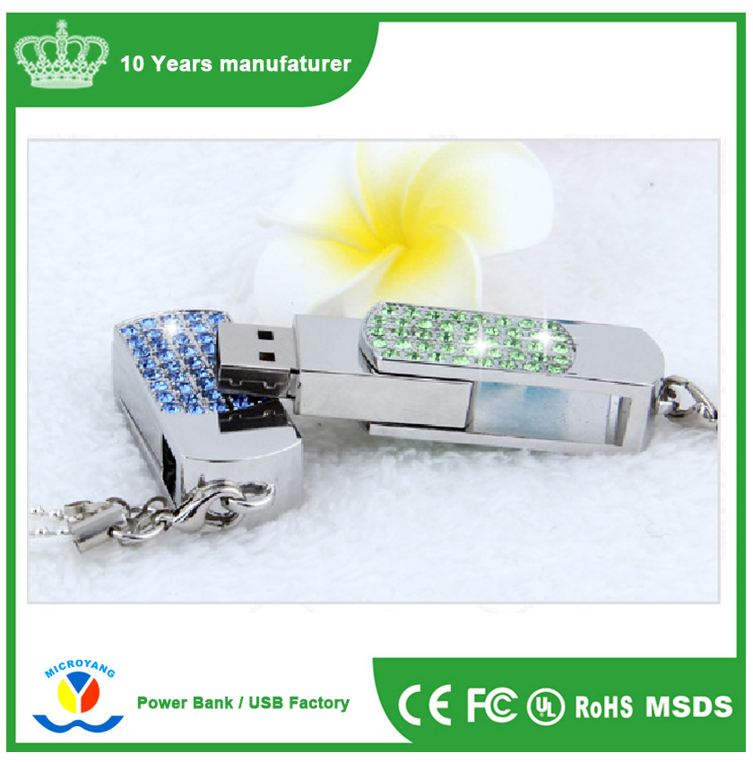 hot selling crystal jewel usb flash stick 1gb 2gb 4gb 8gb 16gb 32gb 64gb
