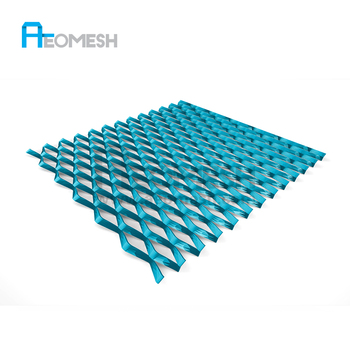 New Design For Hotel Exterior Wall Decoration,Mesh Sheets For Car Grills  Metal Grid Metal Lath - Buy Expanded Metal Mesh,Metal Lath,Expandable Sheet