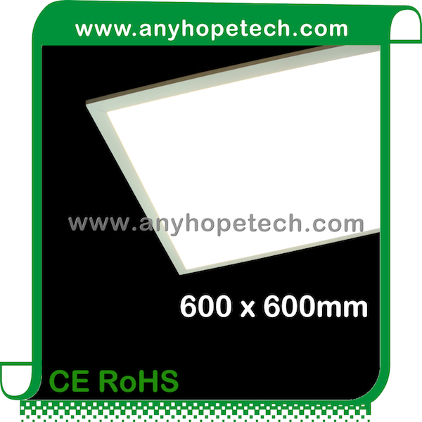0.4 inches thickness turnable white led panel 42W 3600Lm