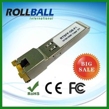 Alibaba al por mayor 1.25g 100 M marca compatible con cisco cobre sfp rj45