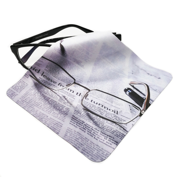 Custom microfiber cleaning cloths for glasses sunglasses eyeglasses