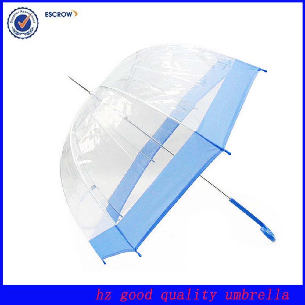 environmental eva transparent umbrella clear print pvc umbrella