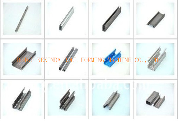 Aufrecht Metall Regal Turrahmen Kalt Profiliermaschine Buy Product