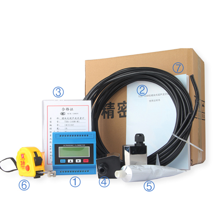 HUF series tds 100 steam sitelab ultrasonic flow meter/flowmeter