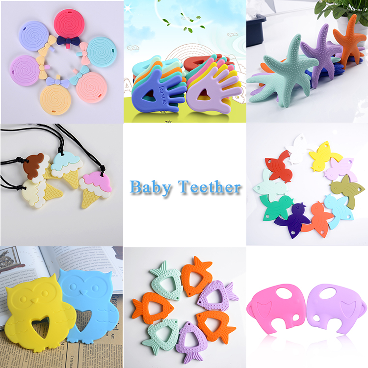 baby pacifier clips/pacifier holder/silicone baby teethers toy